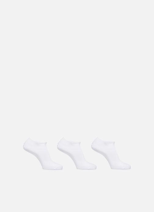 Chaussettes et collants Sarenza Wear Chaussettes invisibles Homme unies Pack de 3 Coton Blanc vue détail/paire