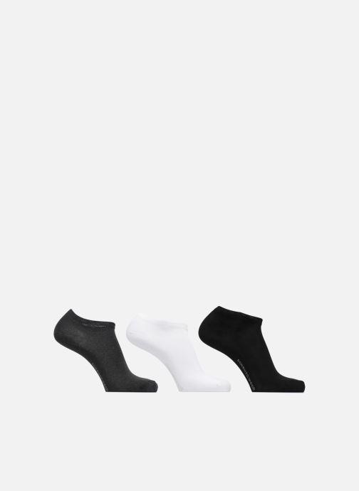Socken & Strumpfhosen Accessoires Chaussettes Homme Invisibles unies Pack de 3 Coton