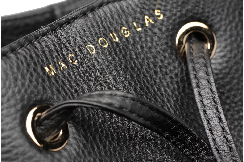 Sacs à main Mac Douglas ROMY Costa M Sac seau Noir vue gauche