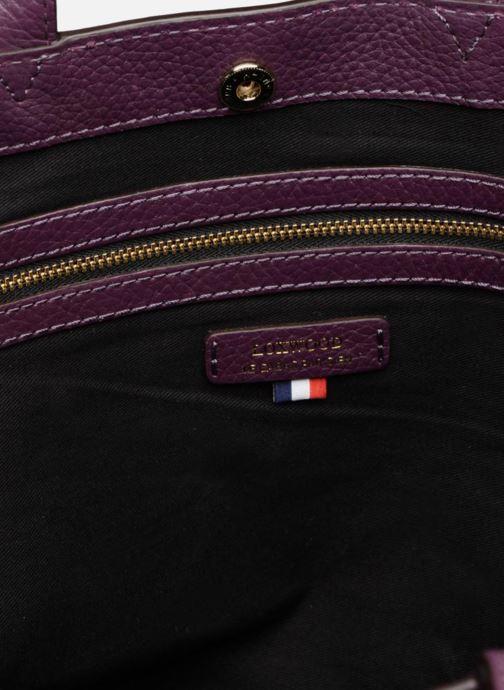 Handtassen Loxwood CABAS PARISIEN S Cuir grainé Paars achterkant
