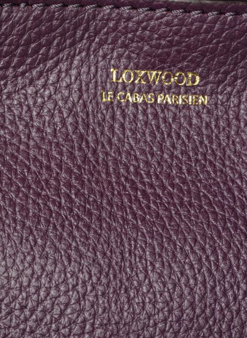 Handtassen Loxwood CABAS PARISIEN S Cuir grainé Paars links