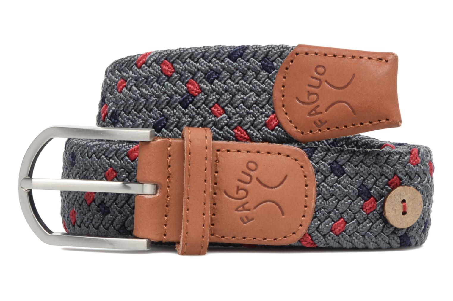 Belts Faguo Ceinture tressée tricolore Grey model view