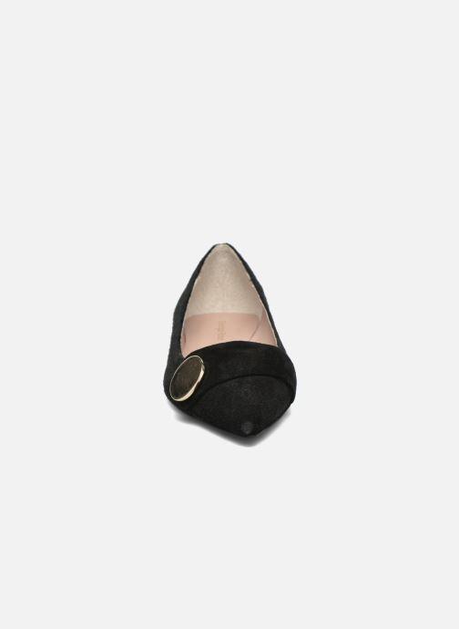Ballerines Georgia Rose Jaol Noir vue portées chaussures