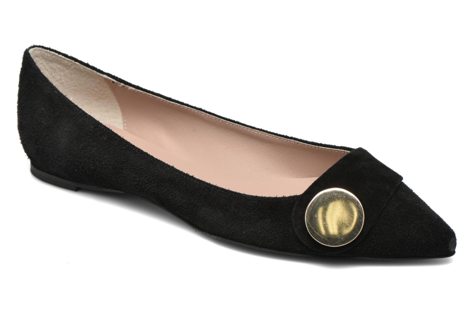 Ballet pumps Georgia Rose Jaol Black detailed view/ Pair view