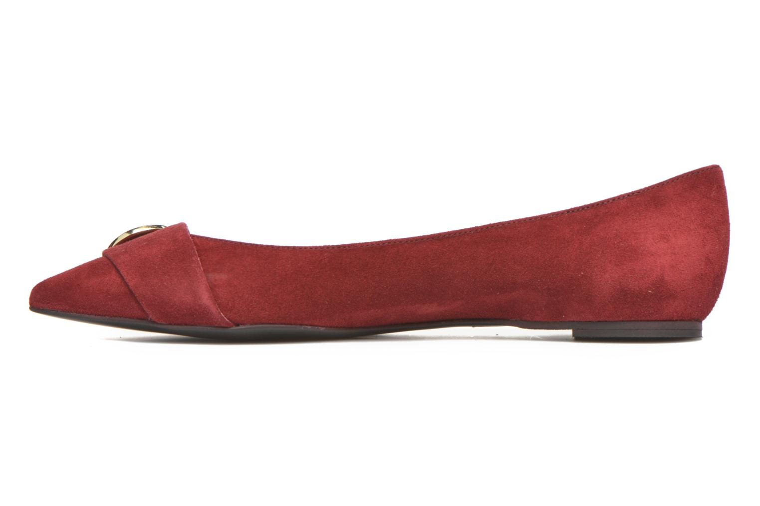Ballerines Georgia Rose Jaol Bordeaux vue face
