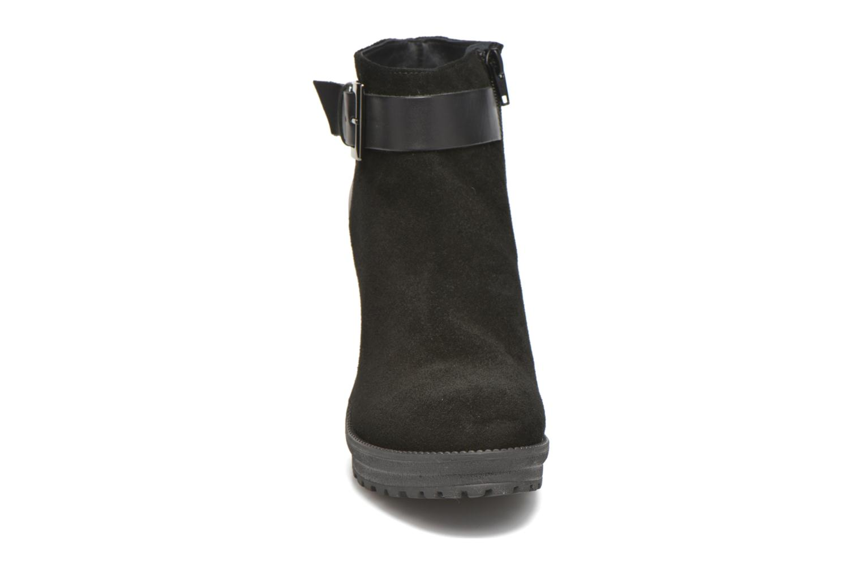 Bottines et boots Georgia Rose Jalape Noir vue portées chaussures