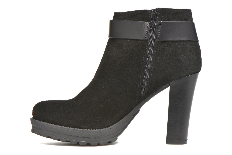 Bottines et boots Georgia Rose Jalape Noir vue face