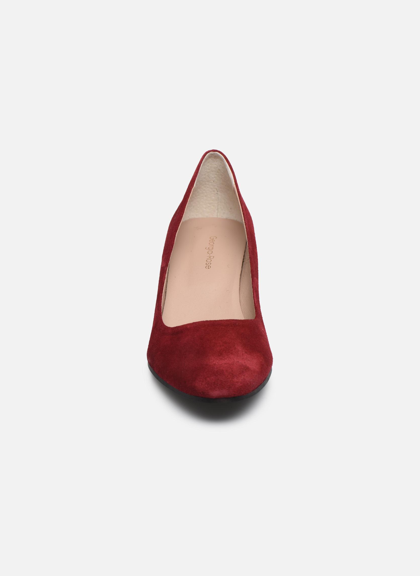 Escarpins Georgia Rose Jalerba Bordeaux vue portées chaussures