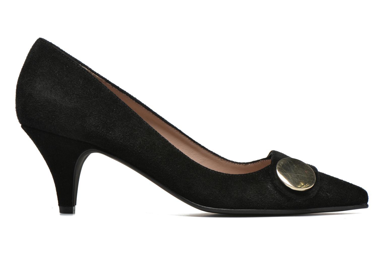 Zapatos de tacón Georgia Rose Jagela Negro vistra trasera