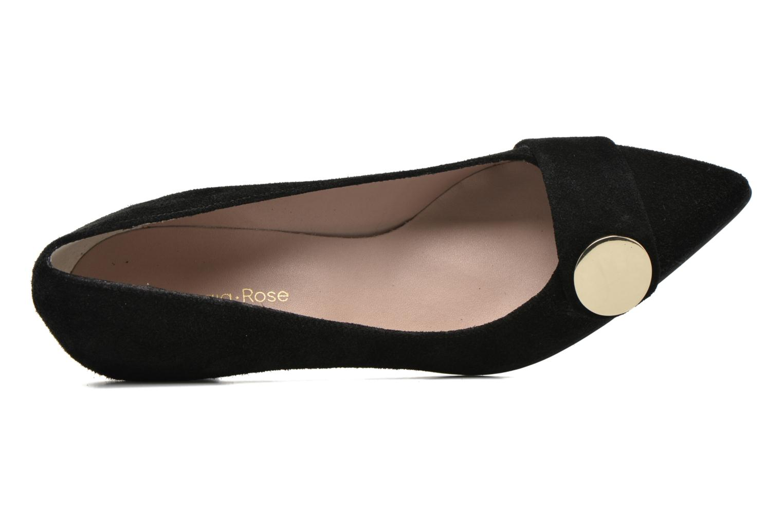Zapatos de tacón Georgia Rose Jagela Negro vista lateral izquierda