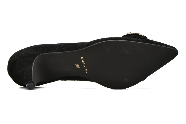 Zapatos de tacón Georgia Rose Jagela Negro vista de arriba