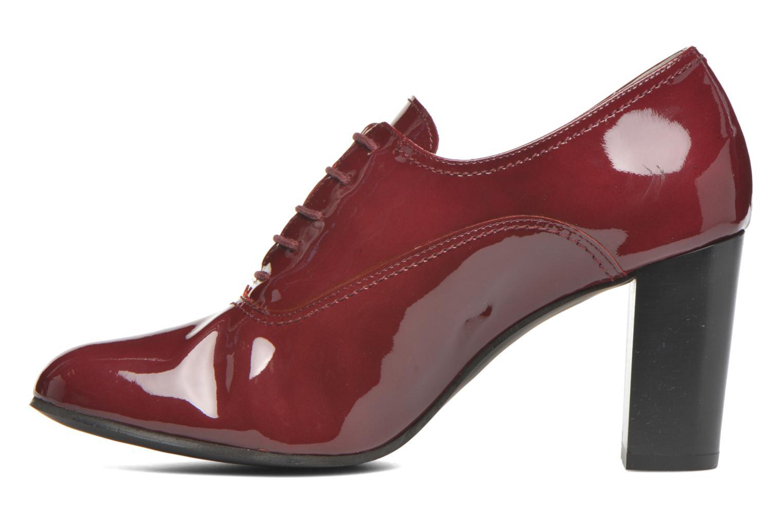 Chaussures à lacets Georgia Rose Jata Bordeaux vue face