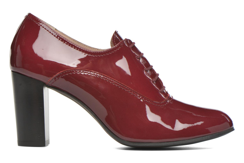 Chaussures à lacets Georgia Rose Jata Bordeaux vue derrière