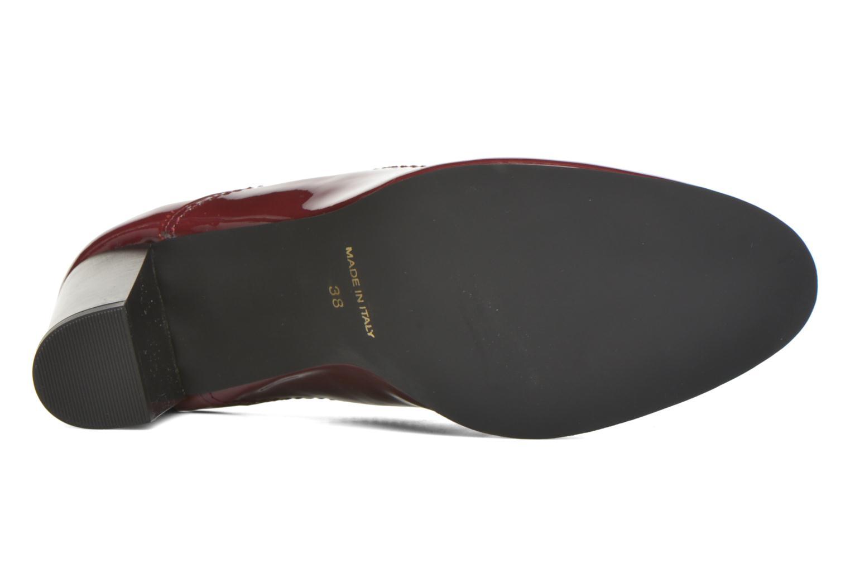 Chaussures à lacets Georgia Rose Jata Bordeaux vue haut