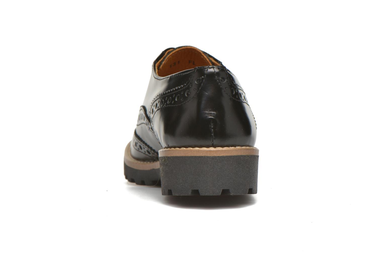 Chaussures à lacets Georgia Rose Nilieu Noir vue droite