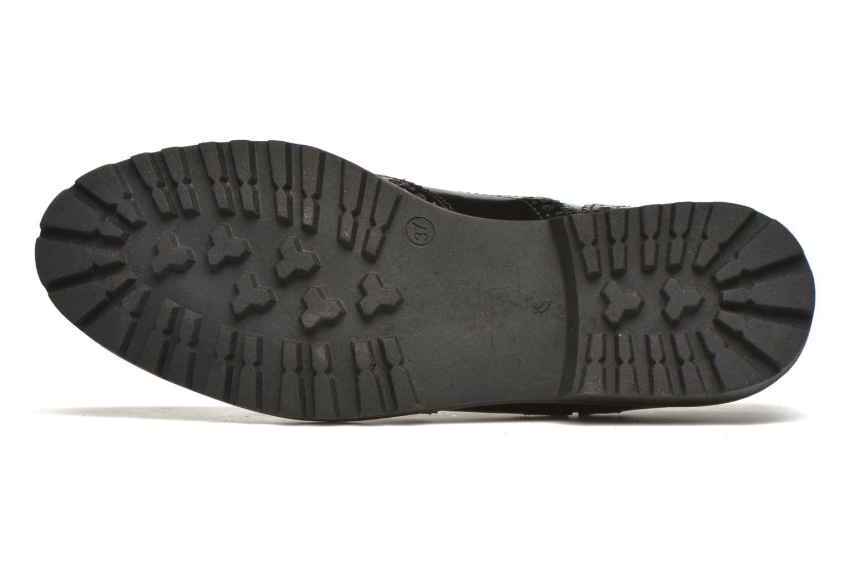 Chaussures à lacets Georgia Rose Nilieu Noir vue haut