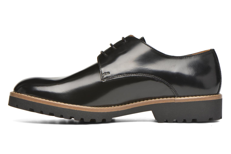 Zapatos con cordones Georgia Rose Nicran Negro vista de frente