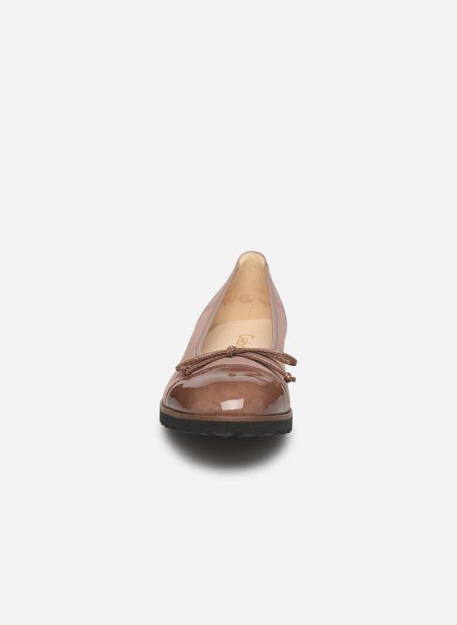 Ballerines Gabor Lidia Rose vue portées chaussures