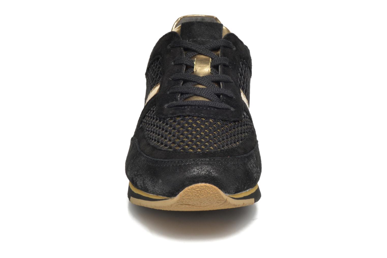 Baskets Gabor Jeanne Noir vue portées chaussures