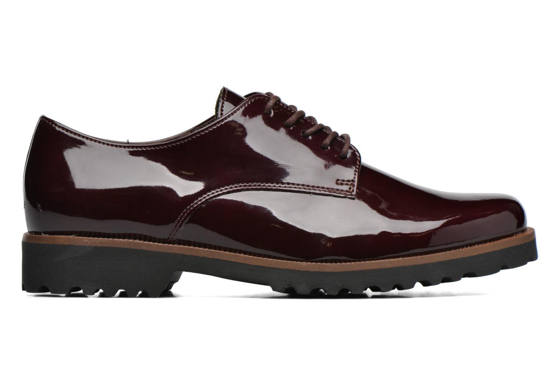 Chaussures à lacets Gabor Brie Bordeaux vue derrière