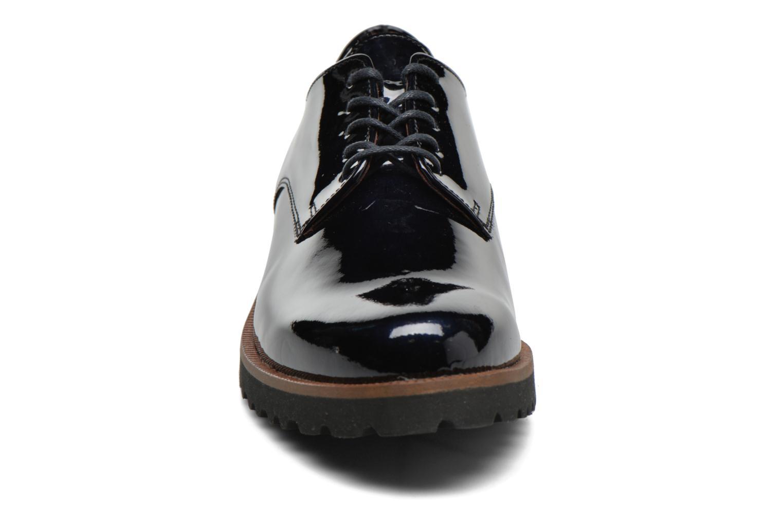 Chaussures à lacets Gabor Brie Bleu vue portées chaussures