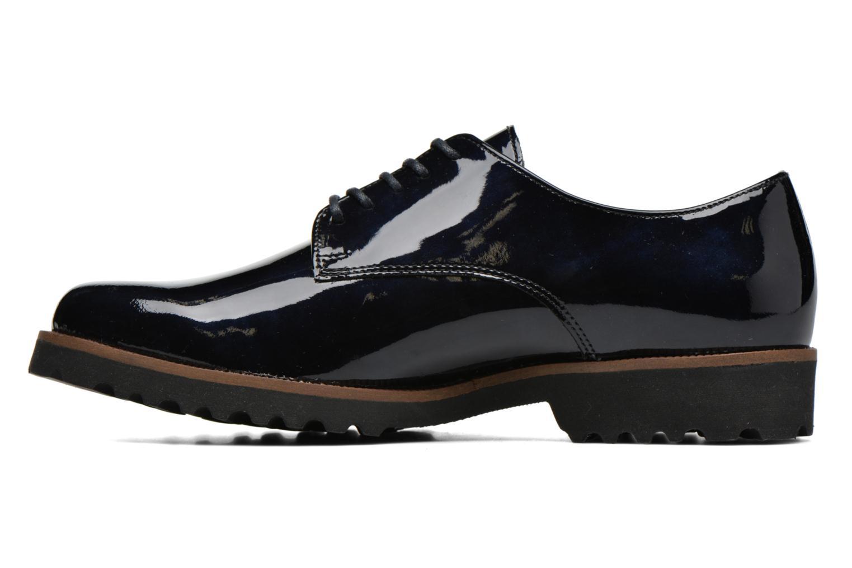 Chaussures à lacets Gabor Brie Bleu vue face