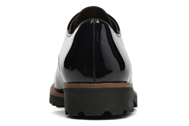 Chaussures à lacets Gabor Brie Bleu vue droite