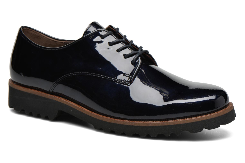 Chaussures à lacets Gabor Brie Bleu vue détail/paire