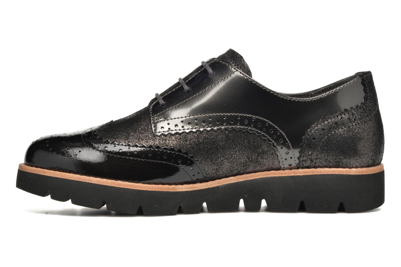 Chaussures à lacets Gabor Susan Gris vue face