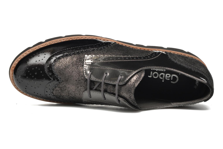 Chaussures à lacets Gabor Susan Gris vue gauche