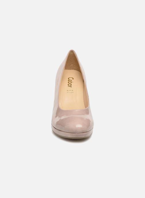 Escarpins Gabor Myriam Marron vue portées chaussures