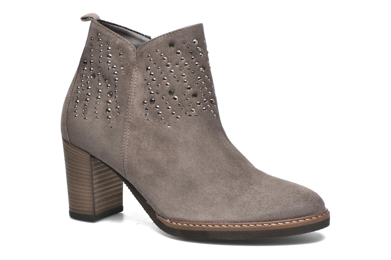 Bottines et boots Gabor Anna Marron vue détail/paire