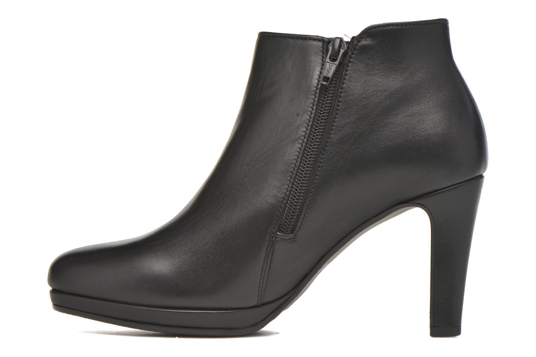 Bottines et boots Gabor Anne Noir vue face