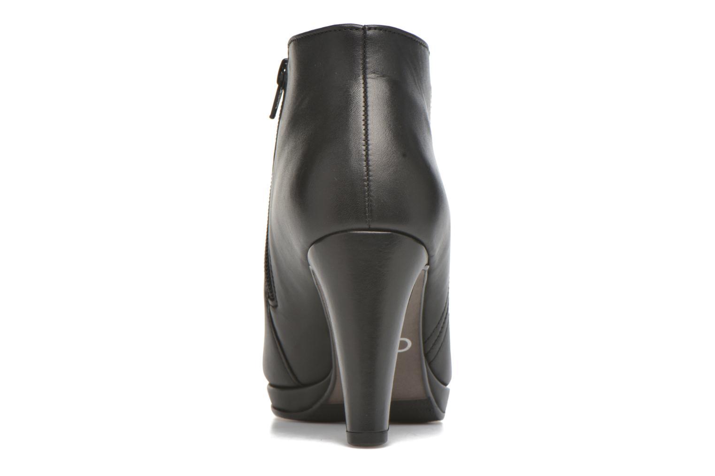 Bottines et boots Gabor Anne Noir vue droite