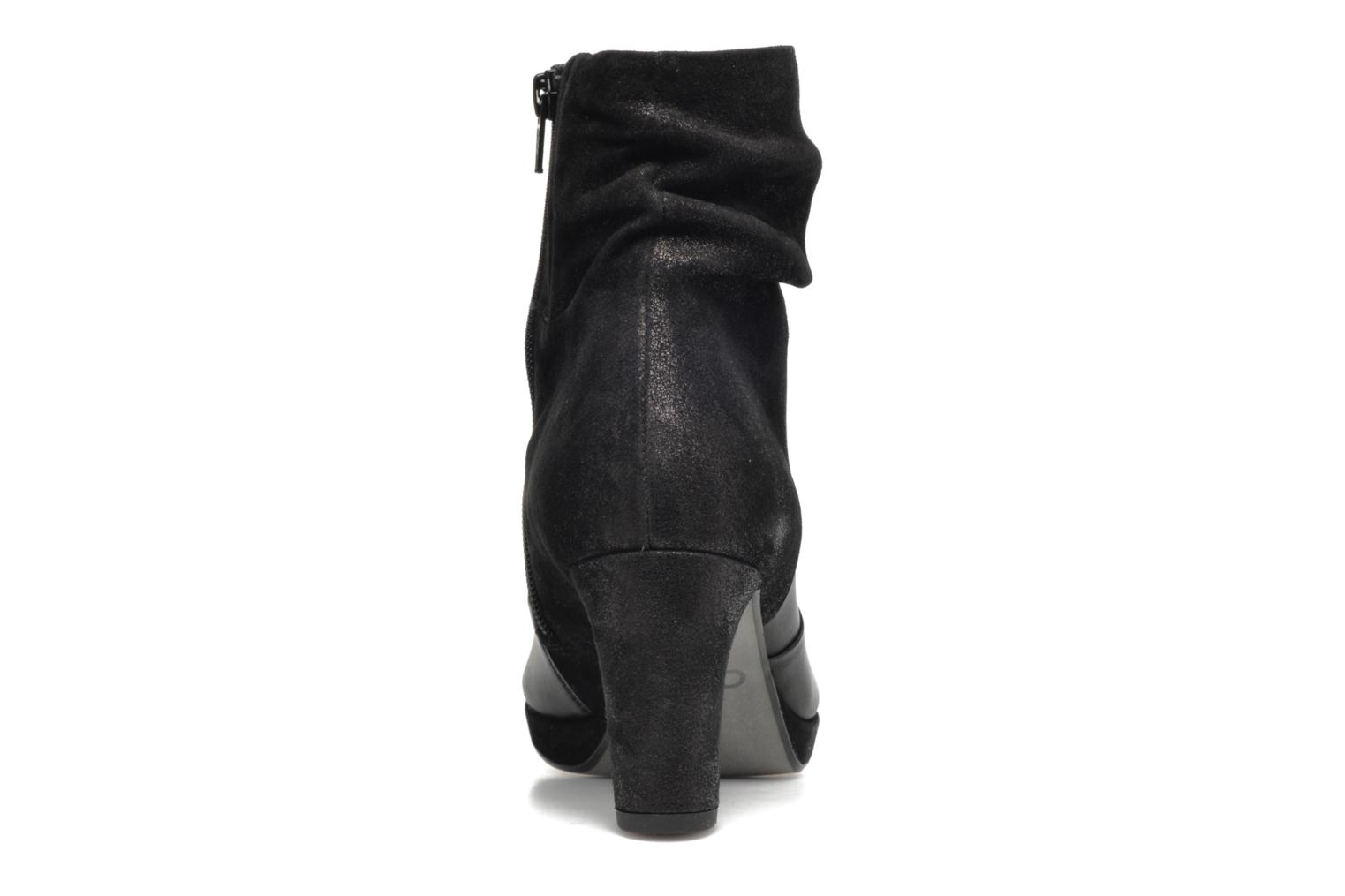 Ankle boots Gabor Nizza Black view from the right