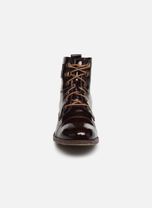 Bottines et boots Josef Seibel Sienna 17 Bordeaux vue portées chaussures
