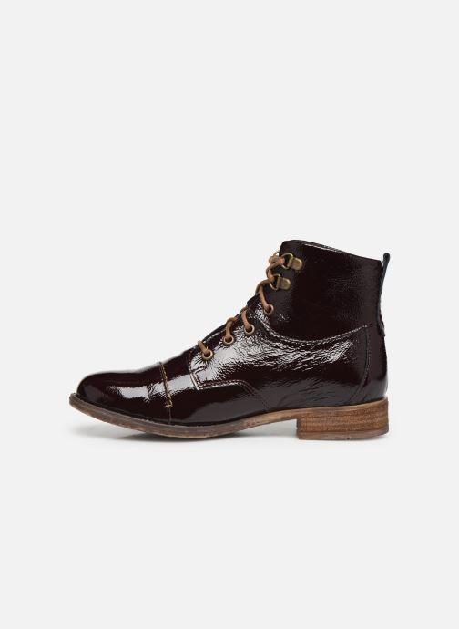 Bottines et boots Josef Seibel Sienna 17 Bordeaux vue face