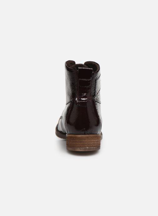 Bottines et boots Josef Seibel Sienna 17 Bordeaux vue droite