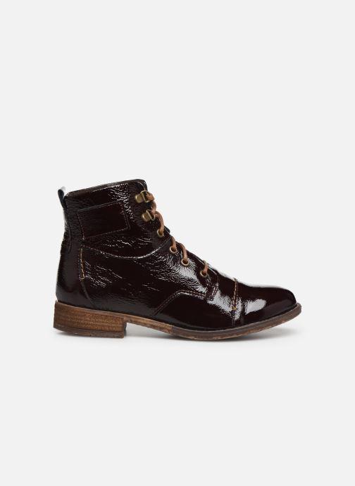 Bottines et boots Josef Seibel Sienna 17 Bordeaux vue derrière