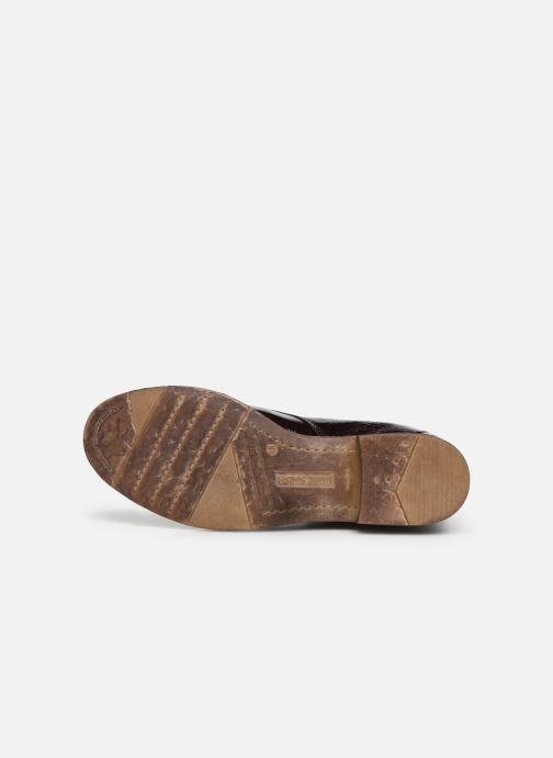 Bottines et boots Josef Seibel Sienna 17 Bordeaux vue haut