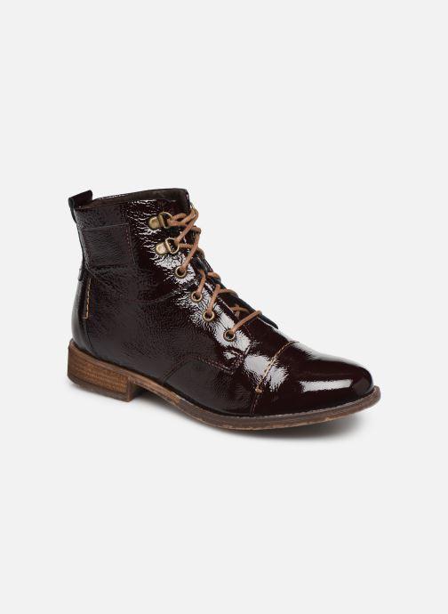 Bottines et boots Josef Seibel Sienna 17 Bordeaux vue détail/paire