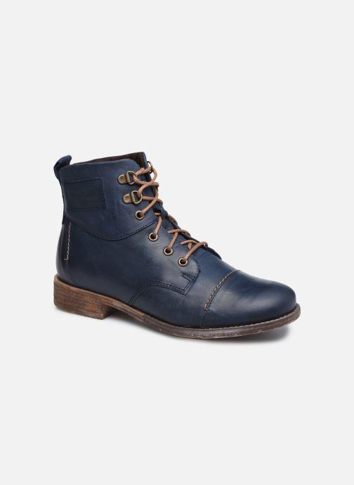 Ankelstøvler Josef Seibel Sienna 17 Blå detaljeret billede af skoene
