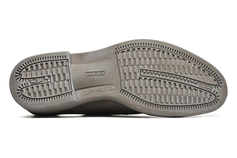Chaussures à lacets DUDE Volterra Gris vue haut