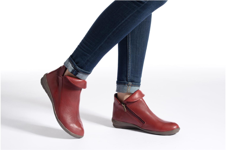 Bottines et boots Sweet Bibaz Marron vue bas / vue portée sac