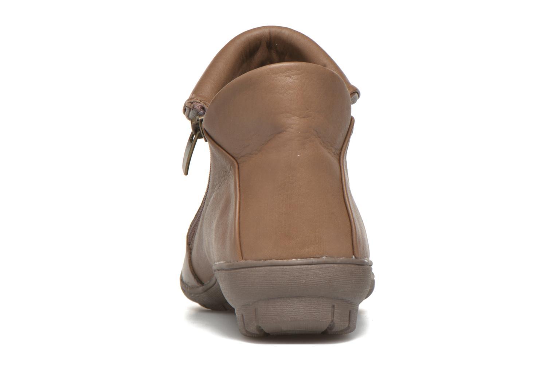 Bottines et boots Sweet Bibaz Marron vue droite