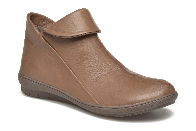 Bottines et boots Sweet Bibaz Marron vue détail/paire