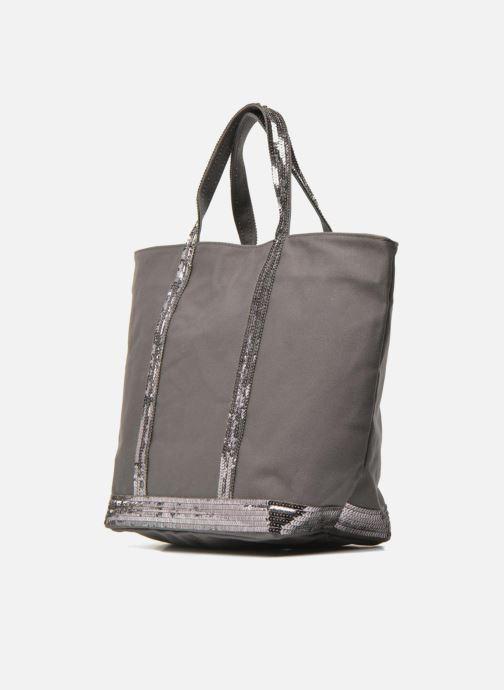 Handtaschen Vanessa Bruno Cabas  M grau schuhe getragen