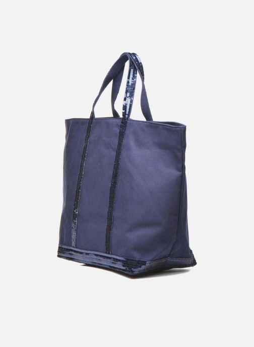 Handtassen Vanessa Bruno Cabas  M+ Blauw model