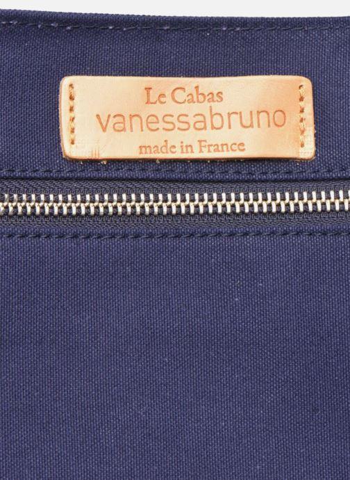 Sacs à main Vanessa Bruno Cabas  M+ Bleu vue derrière