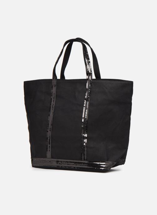 Handbags Vanessa Bruno Cabas  M+ Black model view
